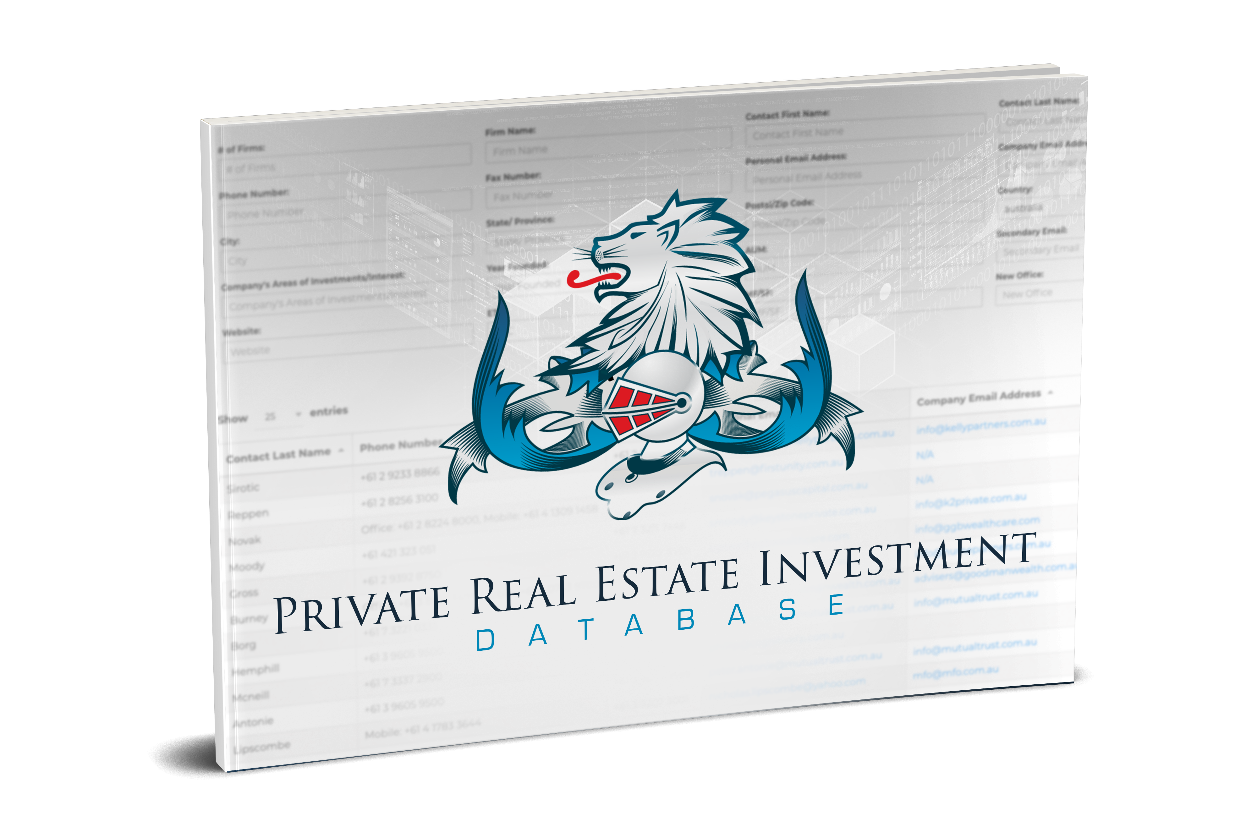Database Investors Office Private Family Estate Real By 5ARLjqc34